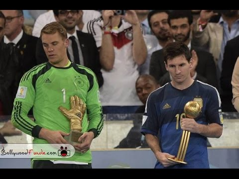 Lionel Messi The Saddest Man to Receive A Trophy At The World Cup