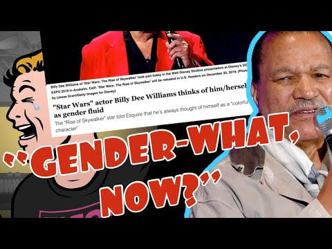 "LOL Entire GARBAGE TIER MEDIA complex mislabels 82 year old BILLY DEE WILLIAMS as ""Non Binary!"""