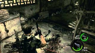 Resident Evil 5 Co-op with Monkeyscythe 1-2