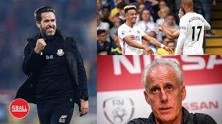THE FOOTBALL SHOW | Ireland vs Switzerland | League of Ireland | LIVE