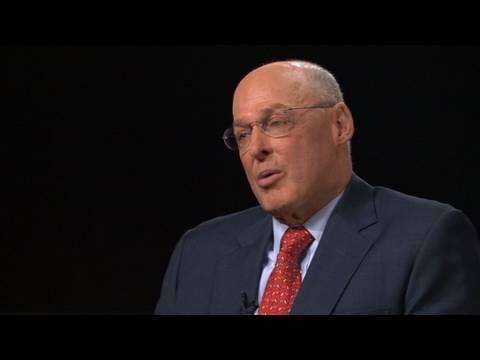 Paulson on AIG and Lehman