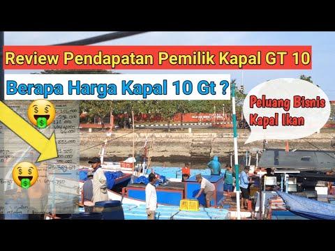 Bongkar/Review Penghasilan Pemilik Kapal GT 10 Beserta Nahkoda N ABK..Peluang Bisnis Kapal Ikan