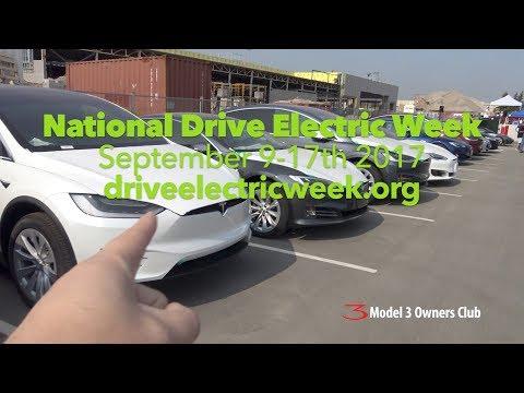 Drive Electric Week 2017 | Model 3 Owners Club