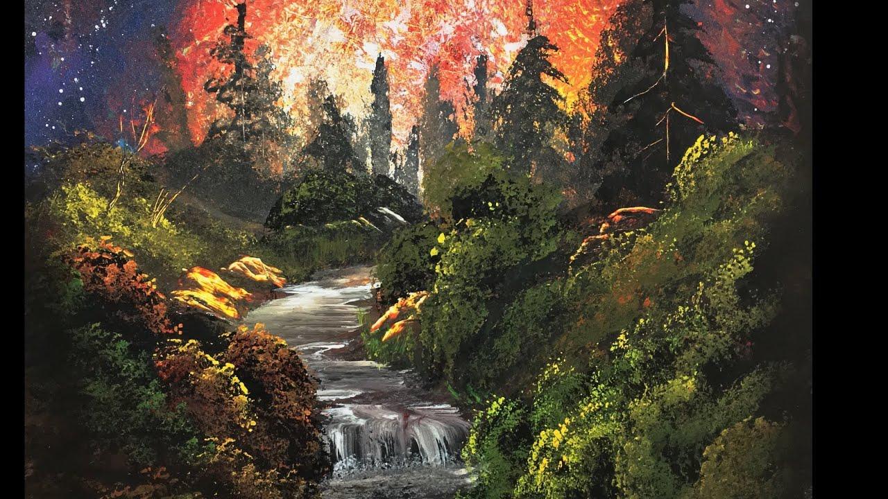 nature painting joy spray