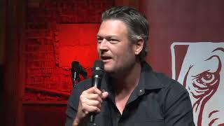 Blake Shelton Press Conference @ Ole Red (09.29.2017)
