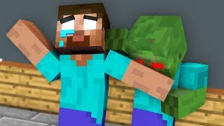 Monster School : SEASON 2 ALL EPISODE ZOMBIE APOCALYPSE Challenge - Minecraft Animation