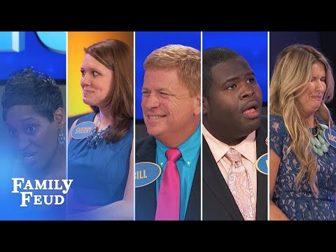 Thumbnail: 2015's Top 5 Funniest Answers! | Family Feud