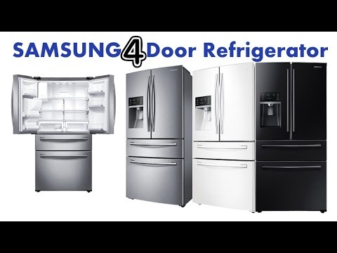 Samsung 4 Door Refrigerator Samsung Rf28hmedbsr 4 Door French Door