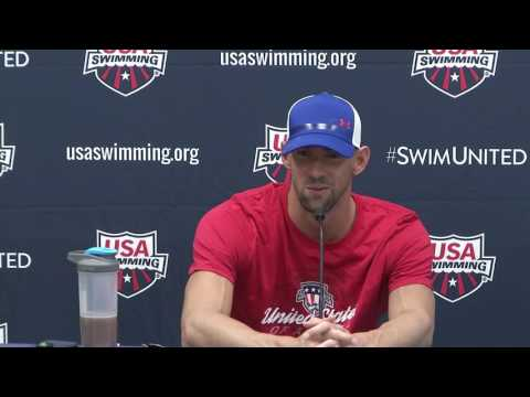 2016 Olympic Training Camp Media Day Press Conference: Michael Phelps