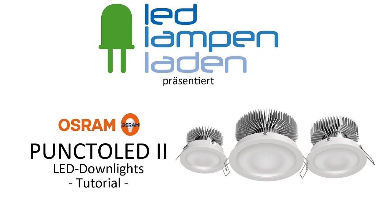 OSRAM LED Lampen | OSRAM PUNCTOLED II | Ihr LED-Lampenladen.de ...