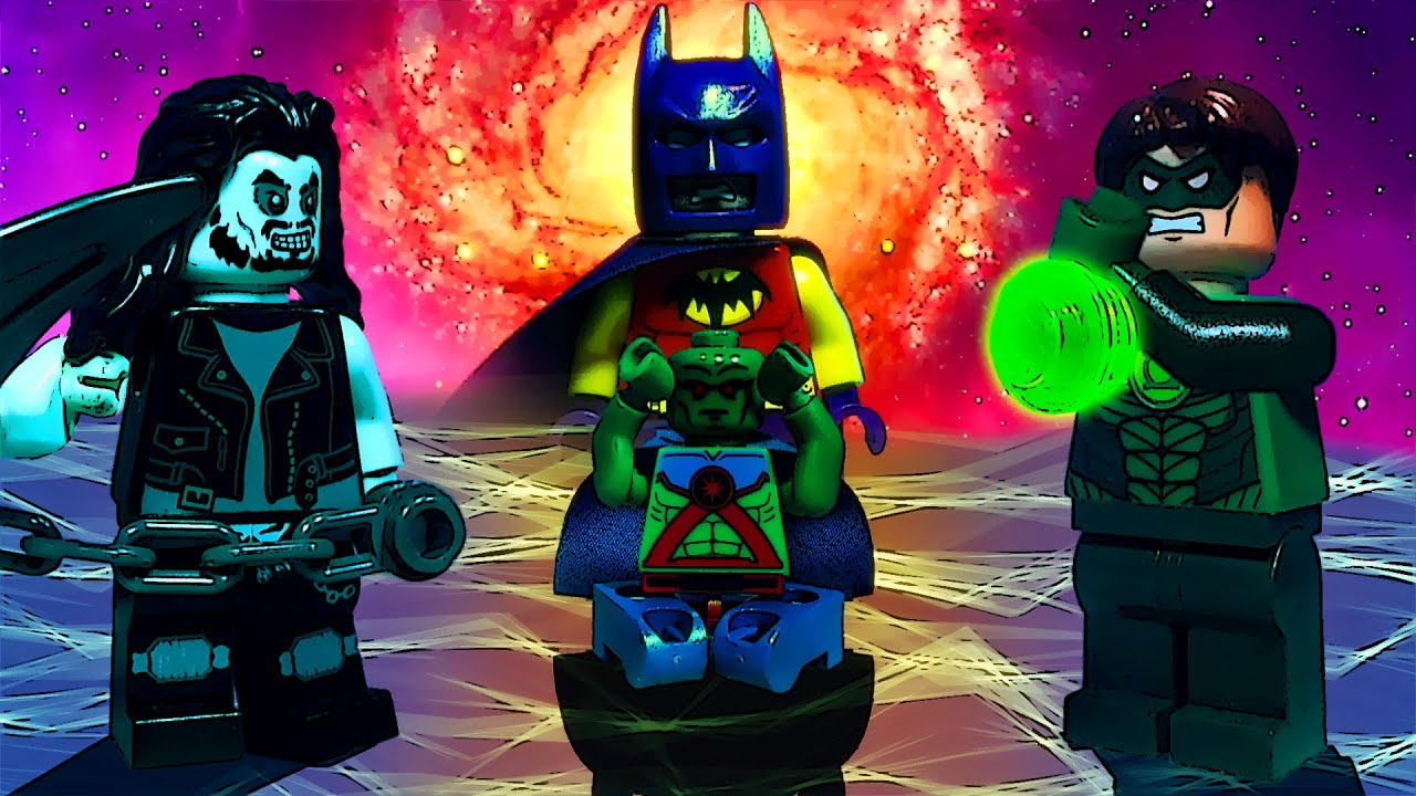 Lego Justice League vs Avengers Movie Prologue - YouTube