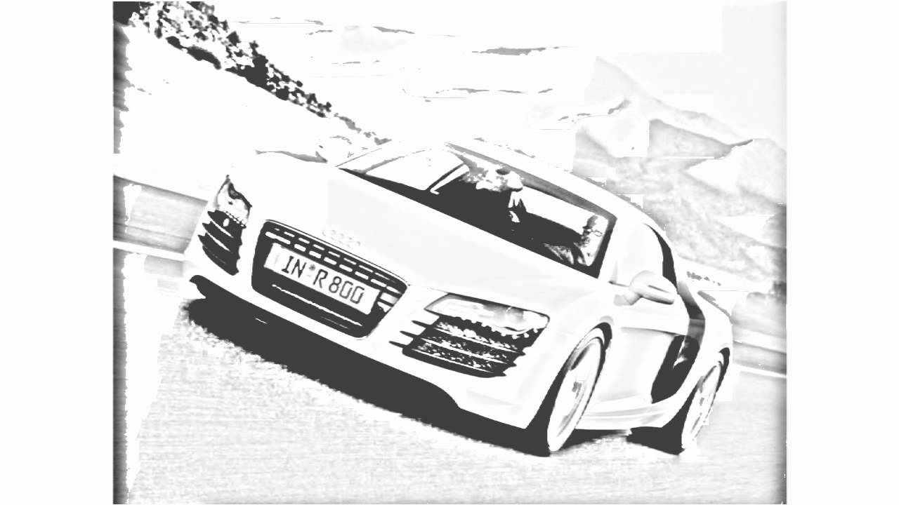 Auto Draw 2: Audi R8 On The Road - YouTube