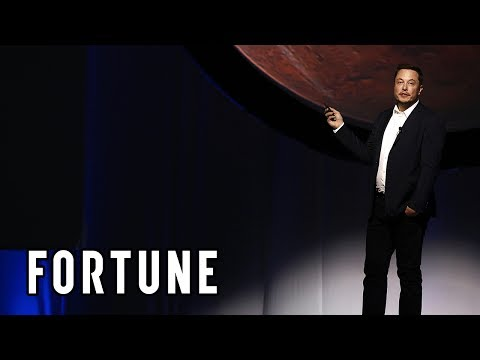 Elon Musk Plans to Create a Self-Sustaining City on Mars I Fortune