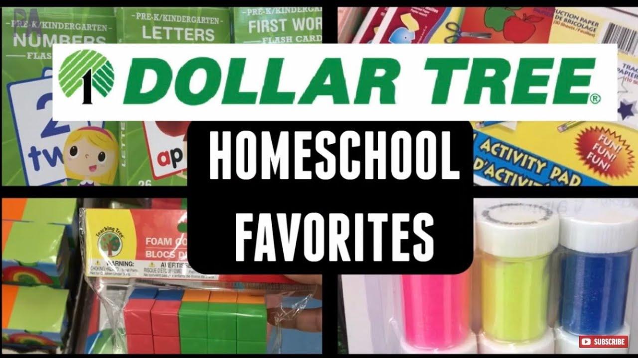 Top DOLLAR TREE Homeschool Supplies