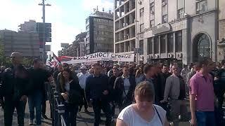 """Kraljevčani """"isforsirali"""" Savu i prešli u centar Beograda"""