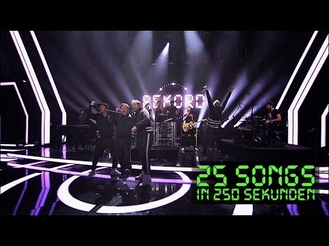 Die Fantastischen Vier - Medley - ECHO (25 Songs in 250 Sekunden)