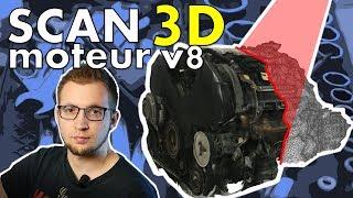 Je SCANNE en 3D un moteur V8 de 300ch par PHOTOGRAMMETRIE! [GT40 project #01]