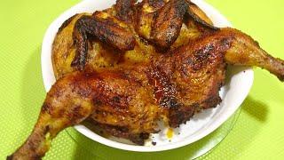 Курица гриль сочная с хрустящей корочкой