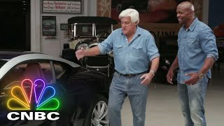 Terry Crews Freaks Out With Jay Leno Over This Aston Martin DB11 | CNBC Prime