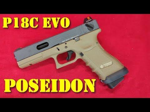 Airsoft - POSEIDON P18 EVO GBB [French]