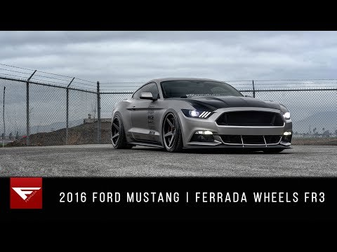 2016 Ford Mustang | Lady Driven and Driven Hard | Ferrada Wheels FR3