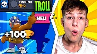 +100 POKALE mit dem SCH**SS BOXER + NEUER BRAWLER auf 0🏆-Troll Account! • Brawl Stars deutsch