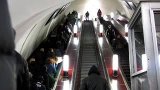Переход метро Третьяковская - Новокузнецкая. // 2012 год