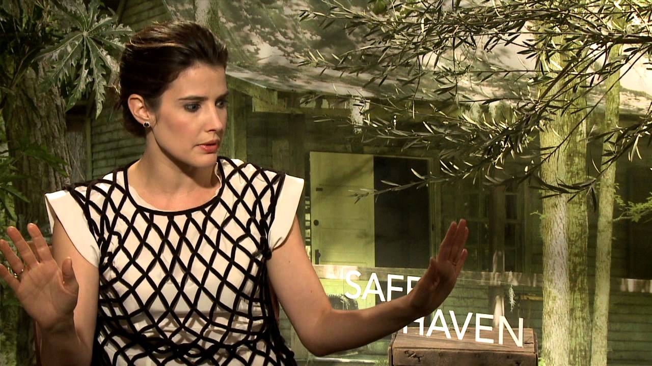 Cobie Smulders EXCLUSIVE INTERVIEW for SAFE HAVEN - YouTube