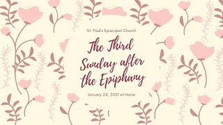 The Third Sunday after the Epiphany