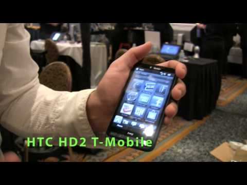 T-Mobile Phones: HTC HD2, Nokia Nuron and Motorola Cliq XT Explained