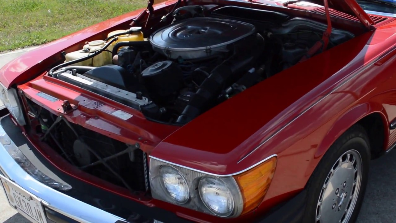 1987 Mercedes 560SL Red Frank\'s Car Barn - Buy, Sell and Trade ...