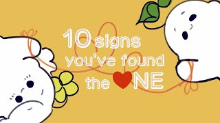10 Signs You've Foขnd The ONE