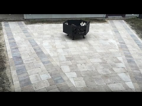 Making a Paved Seating Area