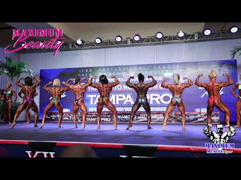 First Call Outs Women's Bodybuilding | 2019 IFBB Pro. League Tampa Pro