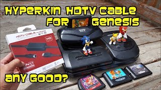 Hyperkin HDTV Cable for Sega Genesis vs Scart, Retrovision, Mega Sg & more