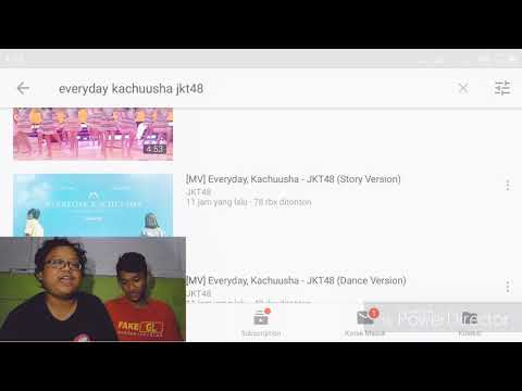 [MV]  Everyday, Kachuusha - JKT48 (Story Ver.)  Video Reaction!!