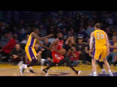 James Harden Dishes Out a Career-High 17 Assists in Los Angeles - 동영상