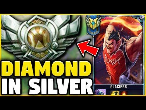 I TOOK MY DARIUS INTO SILVER 5! DIAMOND DARIUS MAIN VS SILVER ELO! - League Of Legends