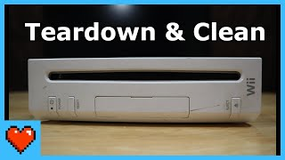Tearing Down & Cleaning the Nintendo Wii