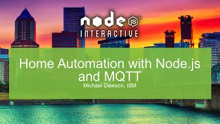 Home Automation with Node.js and MQTT