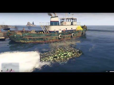 GTA Online - Offshore Assets (APC) Mission - Agent 14 Gunrunning Update