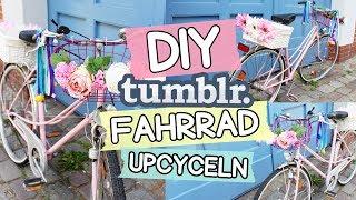 DIY Tumblr Fahrrad ◆ 4 geniale Fahrrad DIY Ideen 🚲💖