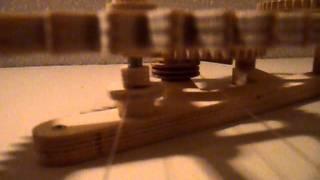 Genesis Wooden Clock