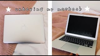 UNBOXING MY BRAND NEW MACBOOK AIR!! My Review & Things You Should Know Before Buying A MacBook!