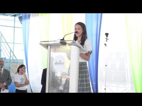 Premio Alaver al Mérito Estudiantil 2015 - Discurso Estudiante
