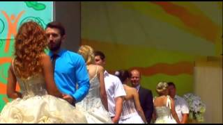 Парад невест,Клятва верности.Запорожье 30.5.2015.