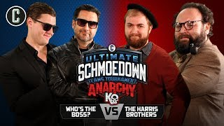 ANARCHY TEAM FINALS! Who's the Boss VS The Harris Brothers - Movie Trivia Schmoedown
