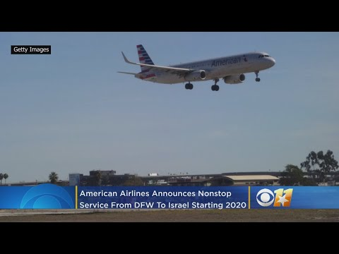 American Airlines Announces Nonstop Service From DFW To Israel Beginning In 2020