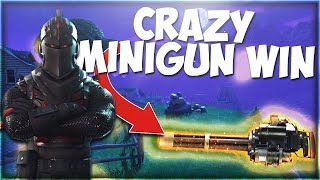 *NEW FORTNITE MINIGUN* IT DESTROYS EVERYTHING! (Unlimited Ammo)
