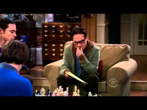 The Big Bang Theory - Three Person Chess Game